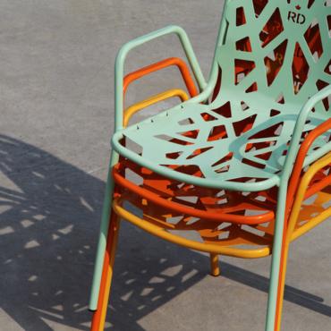 la fancy leaf, regina delle sedie bar da esterno